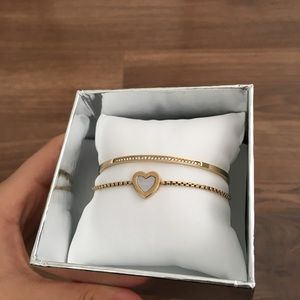 Michael Kors Jewelry - michael kors heart bracelet set